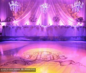 Rent Lighting to make your wedding venue beautiful